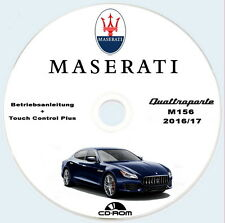 Betriebsanleitung Maserati M156,Quattroporte MY2016/17,owners manual Deutsch