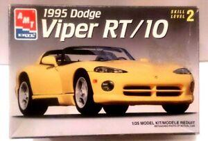OPEN BOX! AMT ERTL 1995 DODGE VIPER RT/10 MODEL KIT 1/25 SCALE  #6550