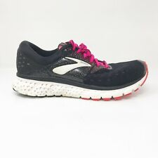 Brooks Womens Glycerin 16 1202781B070 Black Pink Running Shoes Lace Up Size 8 B