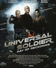 BLU-RAY // UNIVERSAL SOLDIER : DAY OF RECKONING // Science-Fiction / NEUF