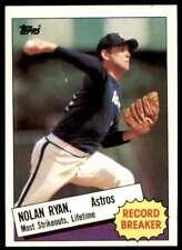 New listing 1985 NOLAN RYAN Topps Record Breaker Baseball Card #7 Picher Houston Astros