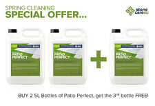 Buy 2 get 1 FREE - Patio Perfect NATURAL STONE Cleaner for Dirt, Algae & Lichens