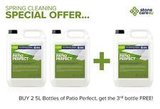PATIO PERFECT Best Cleaner- Buy 2 Get 1 FREE  Apply Leave Wash Away Dirt & Algae