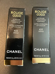 CHANEL ROUGE COCO ULTRA HYDRATING LIP COLOUR 432 CÉCILE FULL SIZE