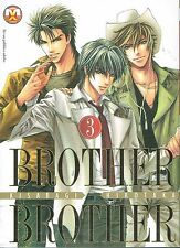 Brother X Brother 3 YAOI di Kisaragi ed.Magic P.NUOVO sconto 30%