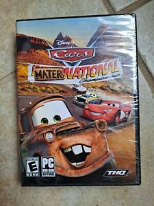 Disney Cars Mater National Championship PC DVD-ROM Video Game