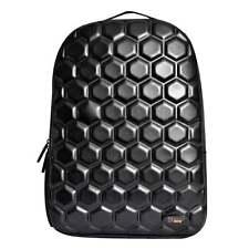 URBAN JUNK UJ Classic Backpack Hex Black School Bag 23162 **FREE HARIBO