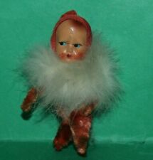 Vintage Dolls House Bisque Baby Doll With Ruff