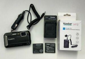 Panasonic LUMIX DMC-TS30 16.1MP Point & Shoot Camera - Black