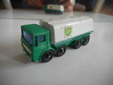 """Matchbox Lesney Petrol Tanker """"BP"""" in Green/White"""