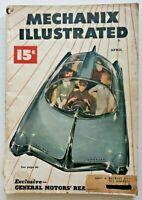 Vintage Rare Mechanix Illustrated Magazine April 1949