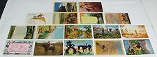 1910's 1930's 1940's 1950's WESTERN Cowboy Postcard Lot ~ COWBOYS ~ 16 Postcards