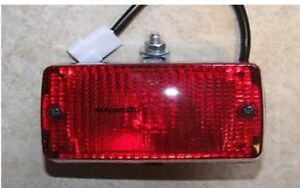 Rear Universal Fog Light Lamp Single bolt fixing NEW e approved Kit Import Car