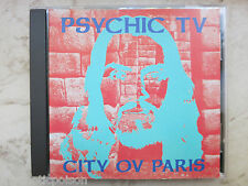 PSYCHIC TV   -   CITY OV PARIS  1986    CD    P.T.V.  PTV Temple TOPY 055 CD