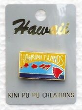 HAWAII COLLECTABLE HAWAIIAN ISLANDS PIN