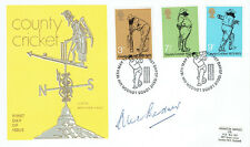 Alec BEDSER Signed Autograph County Cricket First Day Cover 1 FDC COA AFTAL