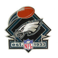 Philadelphia Eagles Established In 1933 NFL Logo Pin