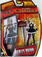 """DC Multiverse ~ 3 3/4"""" HARLEY QUINN ACTION FIGURE ~ Arkham Knight ~ IN STOCK"""