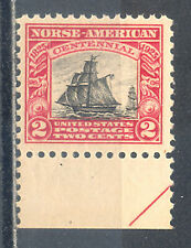 US Stamp (L1601) Scott# 620, Mint NH OG, Margin, Nice Vintage Commemorative