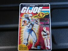 G.I. Joe 1984 Stormshadow 100% Complete Repro Carded
