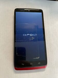 Motorola DROID Turbo XT1254 (Red 32GB) Verizon CRACKED/TAPED GLS