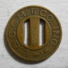 L. & C. C. M. T. Company (Beaver Meadows, Pennsylvania) transit token - PA70A