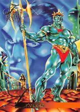 LLYRON / 1995 Fleer Flair Marvel Annual BASE Trading Card #88