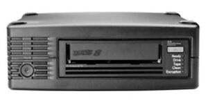 HPE BC023A Ultrium 30750 External LTO8 SAS2 Tape Drive 30TB Data Capacity (NEW)