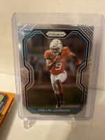 2020 Panini Prizm Football Collin Johnson Rookie Card Jaguars RC #353