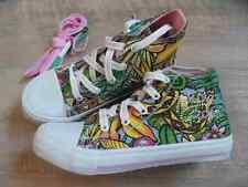 NOLITA POCKET coole Sneakers Dschungelmuster m. Strass Gr. 32 o. 37  NEU