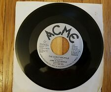 """JUMP IN THE SADDLE """"THE CURLY SHUFFLE / JUMP FOR JOY. EX VINYL 45"""