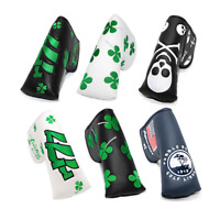Putter Cover Headcovers fits Scotty Cameron Odyssey Blade Lucky Shamrock Black