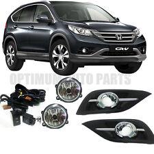 Honda CRV 2012-2014 Fog Lights Lamps Complete Kit WITH FREE BULB