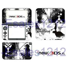 Anime Kingdom Hearts Vinyl Skin Sticker Decals for Nintendo New 3DS XL 2015