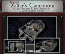 Dwarven Forge Zaltar's Gameroom Dungeons of Doom 2018 Painted-Magnets D&D Tiles