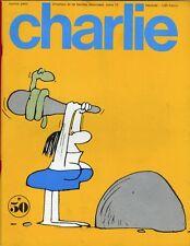 """CHARLIE N°50 / mars 1973"" Al SMYTHE : ANDY CAPP"