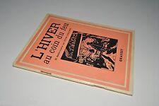 █ Victor Christophe L'HIVER AU COIN DU FEU 50 dessins-surprise à colorier 1937 █