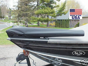"""MotorGuide Trolling Motor Cover  By PoppTops Fits Xi5  w/54"""" Shaft.  BLACK"""