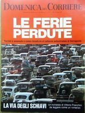 La Domenica del Corriere 19 Agosto 1969 Ferie Rascel Cecoslovacchia Gondolieri