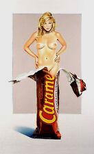 Mel Ramos - Caramia Caramello - 2007, Pop Art Grafik Serigrafie, Luxus