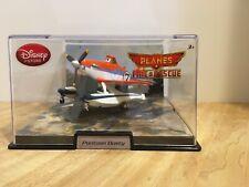 Planes Fire & Rescue Pontoon Dusty Diecast Acrylic Display Case Disney Store New