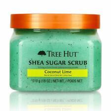 Tree Hut Shea Sugar Body Scrub Coconut Lime Natural Skin Polish 18 oz Bb 01/22