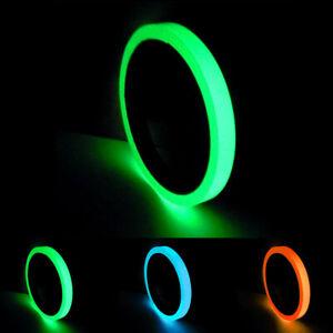 leuchtende fluoreszierende Nacht Selbstklebeband 1/1.5/2/3/4/5CM