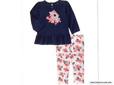 GYMBOREE NEW Girls Outfit  Blooms And Boats Size  18-24 MONTHS