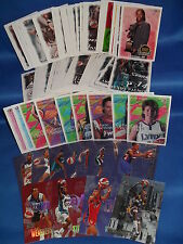 WNBA / 1999 HOOPS BASKETBALL - PARTIAL SET (110) + (12) CHASE CARDS ! LQQK !