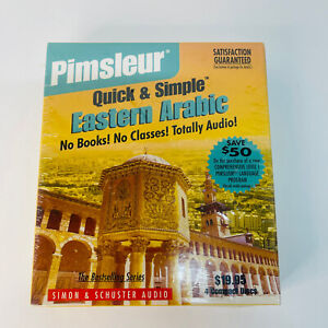 New 4 CD Pimsleur Quick & Simple Eastern Arabic