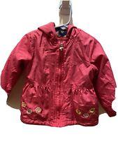 London Fog Fall Jacket 24 Months Fushia Pink Fleece Girls