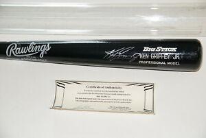 Ken Griffey Jr. Autographed Rawlings Big Stick Pro Model Baseball Bat w/ COA