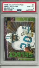 1995 Select Certified #4 Barry Sanders Select Few PSA 8 NM-MT