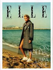 ELLE UK August 2018 LARA STONE Sasha Lane EGYPT AMOUR Marta Gawron @NEW@